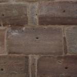 Mauer mit Löchern