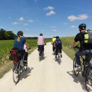 Radtour durch Oberfranken