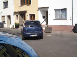 Umparken Schritt 3