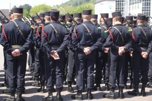 Parade in Saarburg