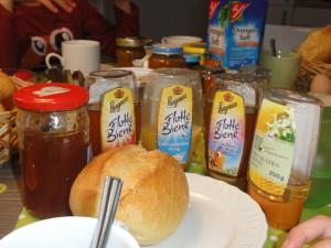 Frühstück Flotte Bienen