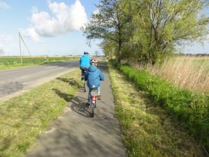 Radtour zu Brötchen